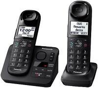 Panasonic KX-TGL432B DECT 6.0 Digital Cordless Phone System w/ Answering Machine