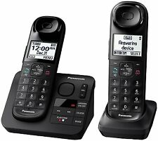 Panasonic KX-TGL432B DECT 6.0 Digital Cordless Phone System w/ Answering Machine