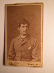 Carlo Gg. Leo-Wolff 1889 Schüler Gymnasium Landwirtschaftsschule Weilburg ? CDV