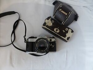Canon AE-1 Program with Canon Lens FD 28mm 1:2.8 - Works
