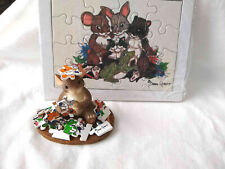 Charming Tails Friends Make All the Pieces Fit (Mouse) [Retired]