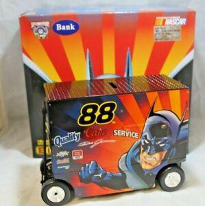 NASCAR Diecast #88 Dale Jarrett Batman Pit Wagon Bank 1:16 Scale