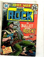 Lot Of 5 Our Army At War Dc Comic Books Sgt. Rock # 276 277 278 279 280 Fm1