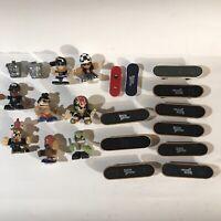 Lot - Vintage Tech Deck Dudes and Magnetic Skateboards 21 Pieces