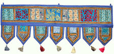 "38x14"" Decorative indian sari Door Valance Vintage Door Hanging Diwali Decor"