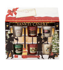 Yankee Candle Christmas Collection 12 Votive/Samplers House Gift Set, BNIB