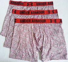 *NEW Lot of 3 Under Armour Boxerjock Boxer Briefs Underwear Men's Size S M L XL