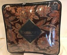 WATERFORD FINE LINENS REVERSIBLE KING HARWICH COMFORTER SET BRAND NEW!
