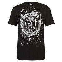 TAPOUT Core Mens T Shirt FIGHT FOR IT Gym Training 100% COTTON Size S - XL R643