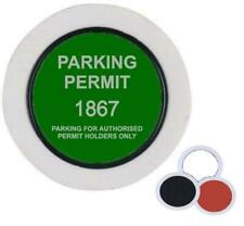 Universal Car Parking Permit Holder / Road Tax Disc Holder - Easy Fit & Removal