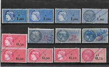 Lot de timbres fiscaux Français