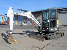 New listing 2014 Bobcat E35 Mini Excavator A/C Cab Backhoe Diesel Aux Hyd Blade bidadoo