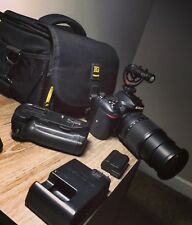 Nikon D7200 24.2MP Digital SLR Camera professional kit with two lenses and more.