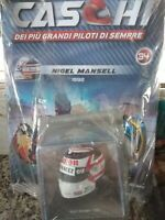 NIGEL MANSELL ARAI HELMET  CASCHI FORMULA 1 COLLECTION #34 1:5 MIB SPARK