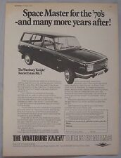 1970 Wartburg Knight Tourist Estate Mk3 Original advert