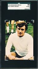 1970 Tommy Wright Bergmann - Verlag SGC 80 = PSA 6 VHTF!  Rare soccer card!