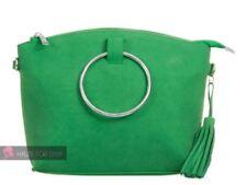 Bolsos de mujer grandes sin marca color principal verde