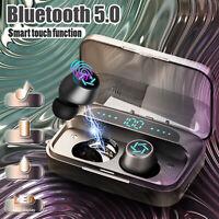 TWS Wireless Headphones Bluetooth 5.0 Earbuds Mic Stereo Headsets Mini Earphones