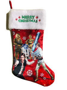 19 In star wars Merry Christmas Stocking