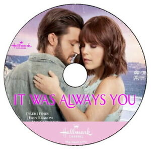 IT WAS ALWAYS YOU DVD 2021 HALLMARK (Case/No Cover Art) Erin Krakow Tyler Hynes