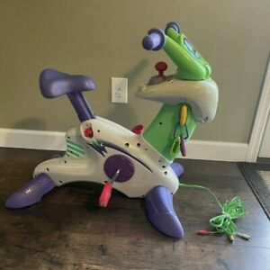 Fisher Price Smart Cycle Learning Arcade W/ 2 Games ~ Plugs Into TV Tested Works