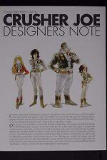 JAPAN Yoshikazu Yasuhiko: Crusher Joe Designers Note (Art Book)