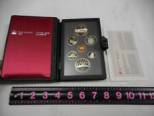 ROYAL CANADIAN MINT PROOF SET 1984 IN ORIGINAL CASE,UNCIRCULATED