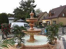 Gartenbrunnen Berlino LED Standbrunnen Brunnen Springbrunnen  Marmor Wasserspiel