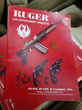 RUGER LAW ENFORCEMENT 1980 gun catalog