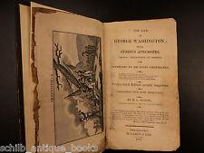 1820 George Washington Anecdotes Colonial Americana President Revolutionary War
