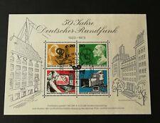 Duitsland Berlijn 1973 Blok 4 Speciaal stempel