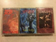 Lot 3 Death Metal Cassette Tapes: Morbid Angel, Suffocation, Morgoth