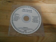 CD Metal Sword - Gods Of The Earth (9 Song) Promo KEMADO disc only