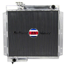 ALUMINUM RADIATOR FOR TOYOTA LAND CRUISE BJ40 BJ42 DIESELE  ENGINE M/T 3ROW