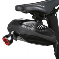 Bicycle Saddle Waterproof Rear Reflective Cycling Rear Tail Bag Bike Accessories