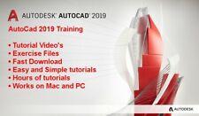 Autodesk AutoCAD 2019 Professional Video Training Tutorial - Fast Download