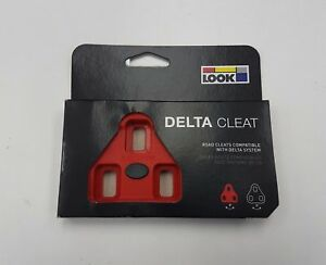 Look Track Delta Cleat (Black / Red)