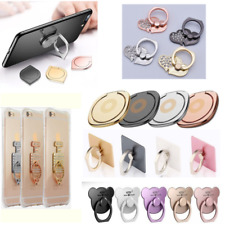 360°Finger Grip Metal Ring Stand Holder For Mobile Phones Tablet iPhone Samsung