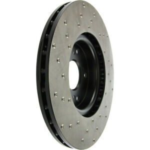 Stoptech 128.40062L ST Drilled Sport Brake Rotors