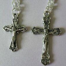 Handmade Rhinestone Religious Costume Necklaces & Pendants