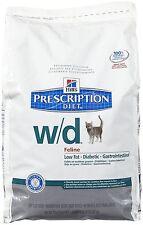 Hill's Prescription Diet w/d Feline Low Fat - Glucose Management Gastrointestina