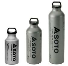 SOTO WIDE MOUTH FUEL BOTTLE FOR MUKA STOVE 3 SIZES .4L / .7L / 1L AVAILABLE