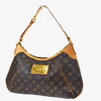 Auth LOUIS VUITTON LV Thames GM Shoulder Bag Monogram Leather BN M56383 11MF592