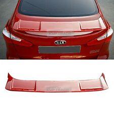 For KIA 2013-2018 Cerato Forte K3 SPEC-GT Rear Trunk Unpainted Spoiler Lip Wing