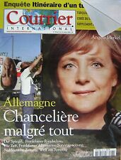Courrier International   N°780   13 Oct 2005 : Allemagne : chanceliere malgre to