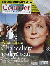 Courrier International   N°780   13 Oct 2005 : Allemagne : chanceliere malgre to