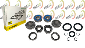 Genuine Gearbox Bearing and Seal Rebuild Kit for Audi A3 6 Speed 0AJ