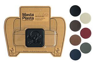 Leather repair self-adhesive patch MastaPlasta PIRATE 5x5cm Fix holes rips burns