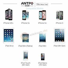 Antpo MFI 1m ios8 pin-8 SYNC e cavo di ricarica per iPhone 6 iPad Air 2 min iPod 7