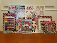 L.O.L Suprise! Activity & Coloring Books, Crayons, Markers... for Kids Ages 3 Up